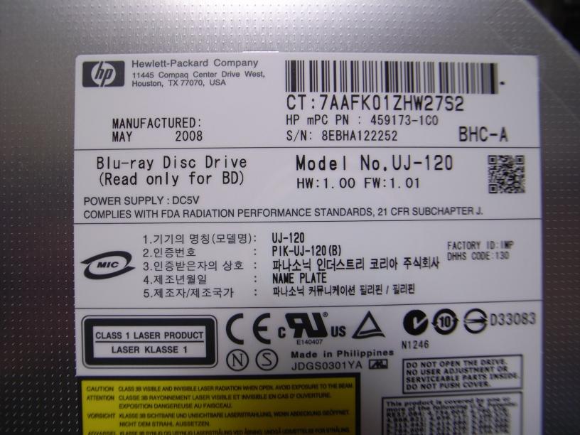 Matshita bd cmb uj 120 usb device driver for windows mac.