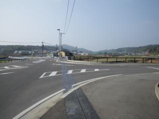 新目代橋の交差点