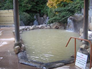 蘭風の露天風呂