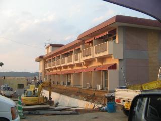 サムソンホテル工事中