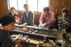牡蠣小屋1