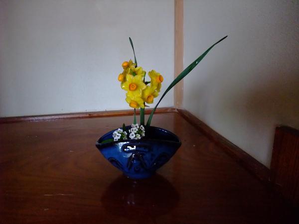 3-6床の間花