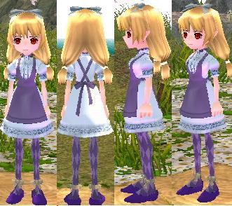 アリスの服