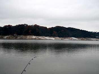 今日の北山湖