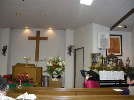 柚木教会のクリスマス