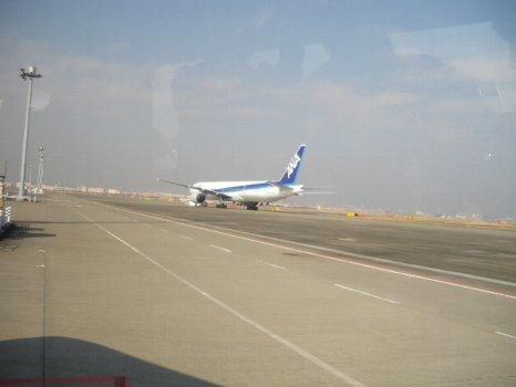 羽田の飛行機