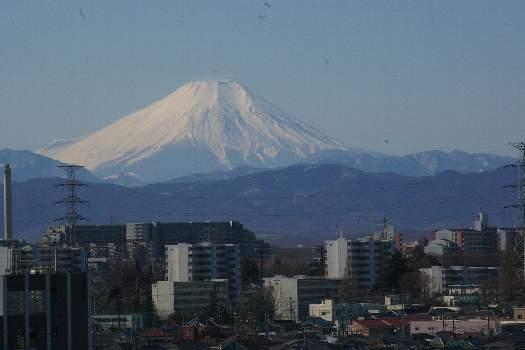 雲無き富士