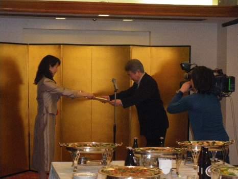 ラジオドラマ大賞贈賞式