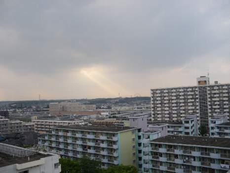 空からの光