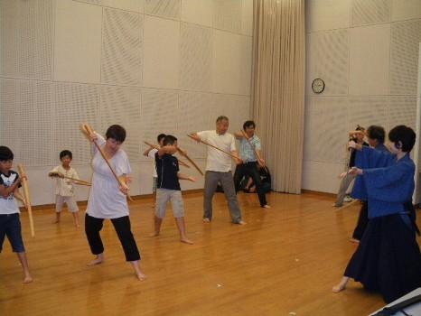 チャンバラ教室