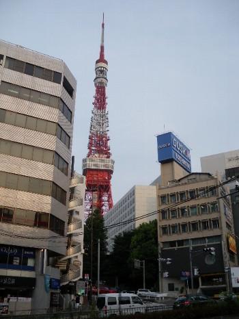 夏の東京タワー