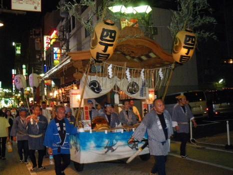 千住氷川神社のお祭り