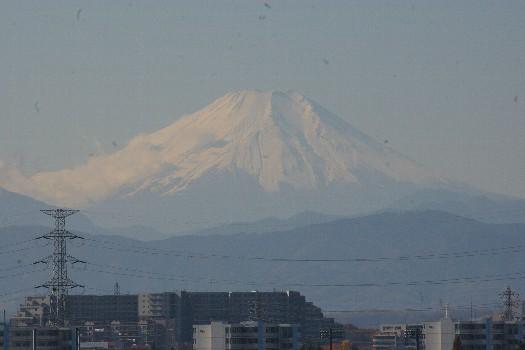 11月終わりの富士