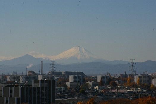 11月終わりの富士遠景