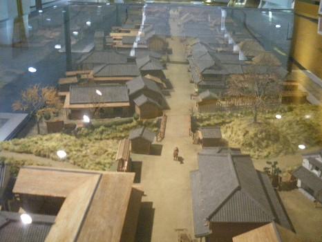 中山道千住の模型