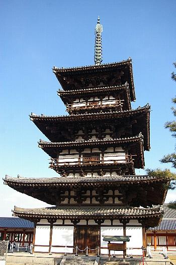 薬師寺三重の塔A