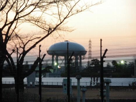UFOに似たタンク