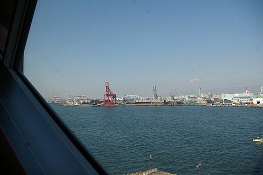 海遊館から見た大阪湾