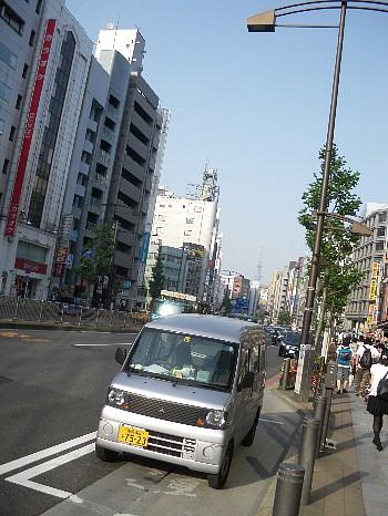 神田から見たスカイツリー