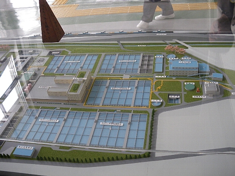 浄水場模型