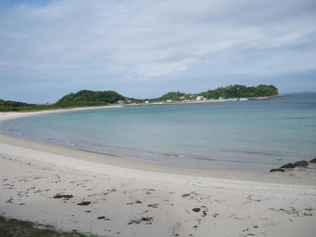 壱岐の砂浜と海