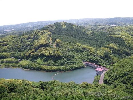 壱岐のダム