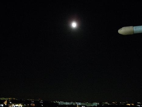 満月に近く