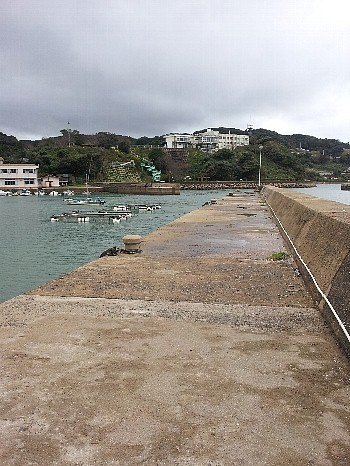 壱岐の堤防