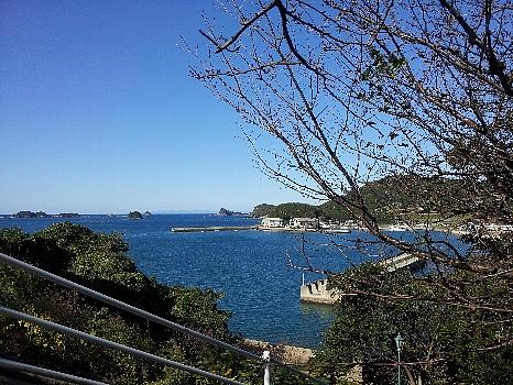 壱岐、湯本湾からの眺め