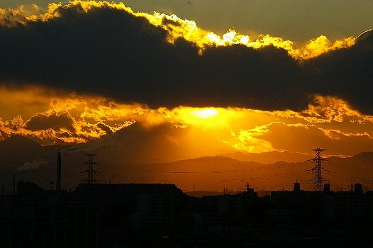 雲間の富士B