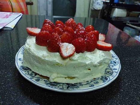 手造りケーキ