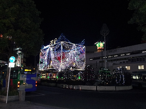吉祥寺駅前の新年