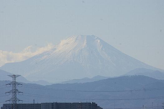 冬富士アップ
