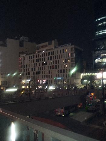 渋谷駅前12年1月19日