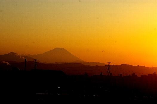 富士夕景2.12
