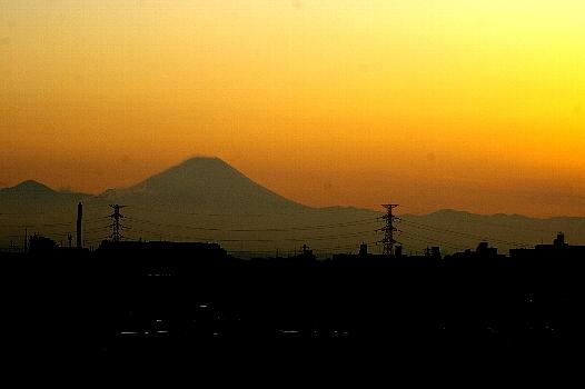 富士の日の富士