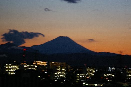 久々の富士