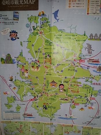 壱岐地図350