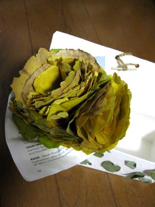 2009.11.29.イチョウ花束ボックスア のコピー