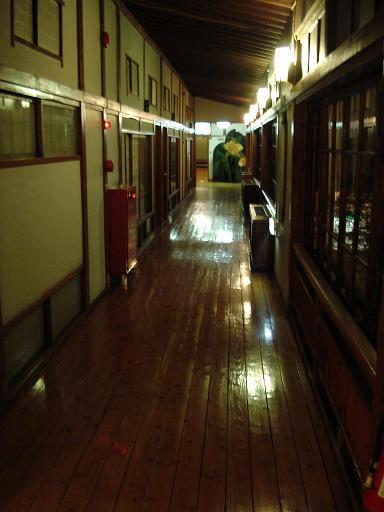 人吉旅館 廊下