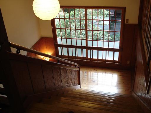人吉旅館 階段