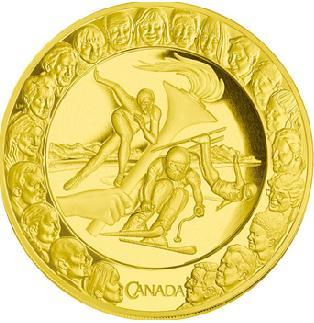 バンクーバーオリンピックの金メダル