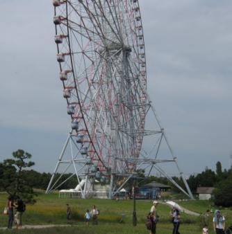 葛西臨海公園の巨大観覧車