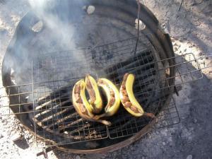BBQ バナナチョコ
