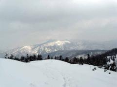 セビオス岳から尾瀬方面