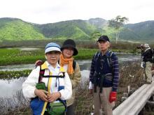 下の大堀川と景鶴山