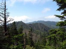 鋸山と袈裟丸山