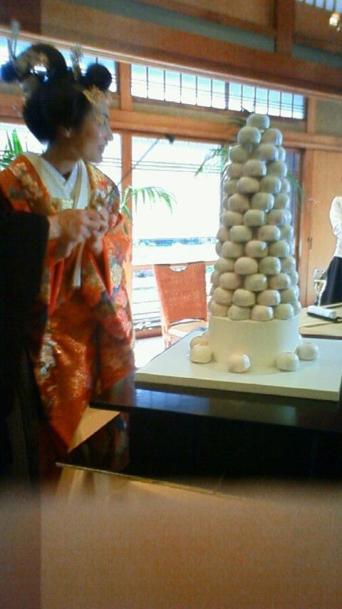 結婚式 饅頭