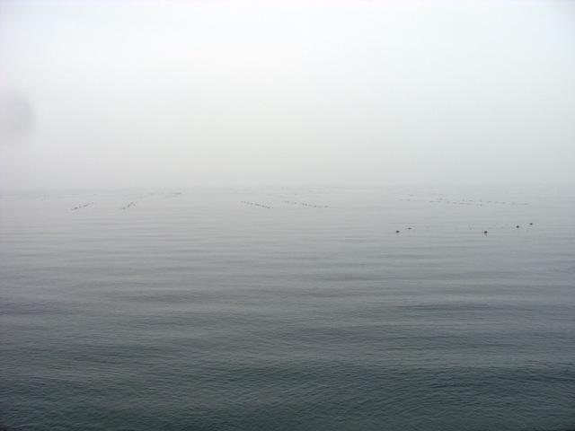 20120302にび色の空と海