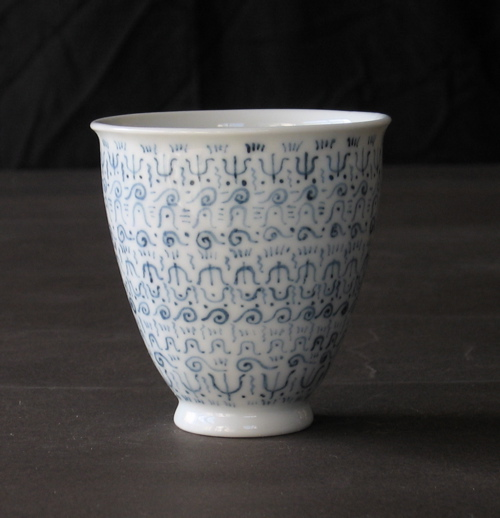 染めつけフリーカップ